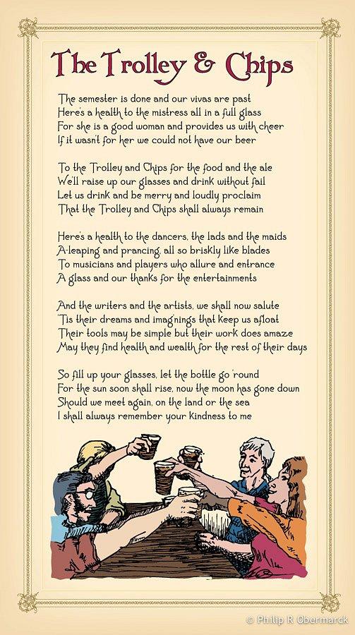 Trolley & Chips Lyrics